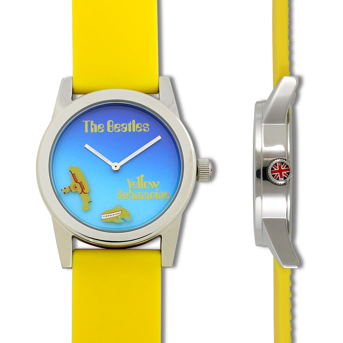 Shop yellow submarine wrist watch by the beatles qbea11w on acme studio for Submarine watches