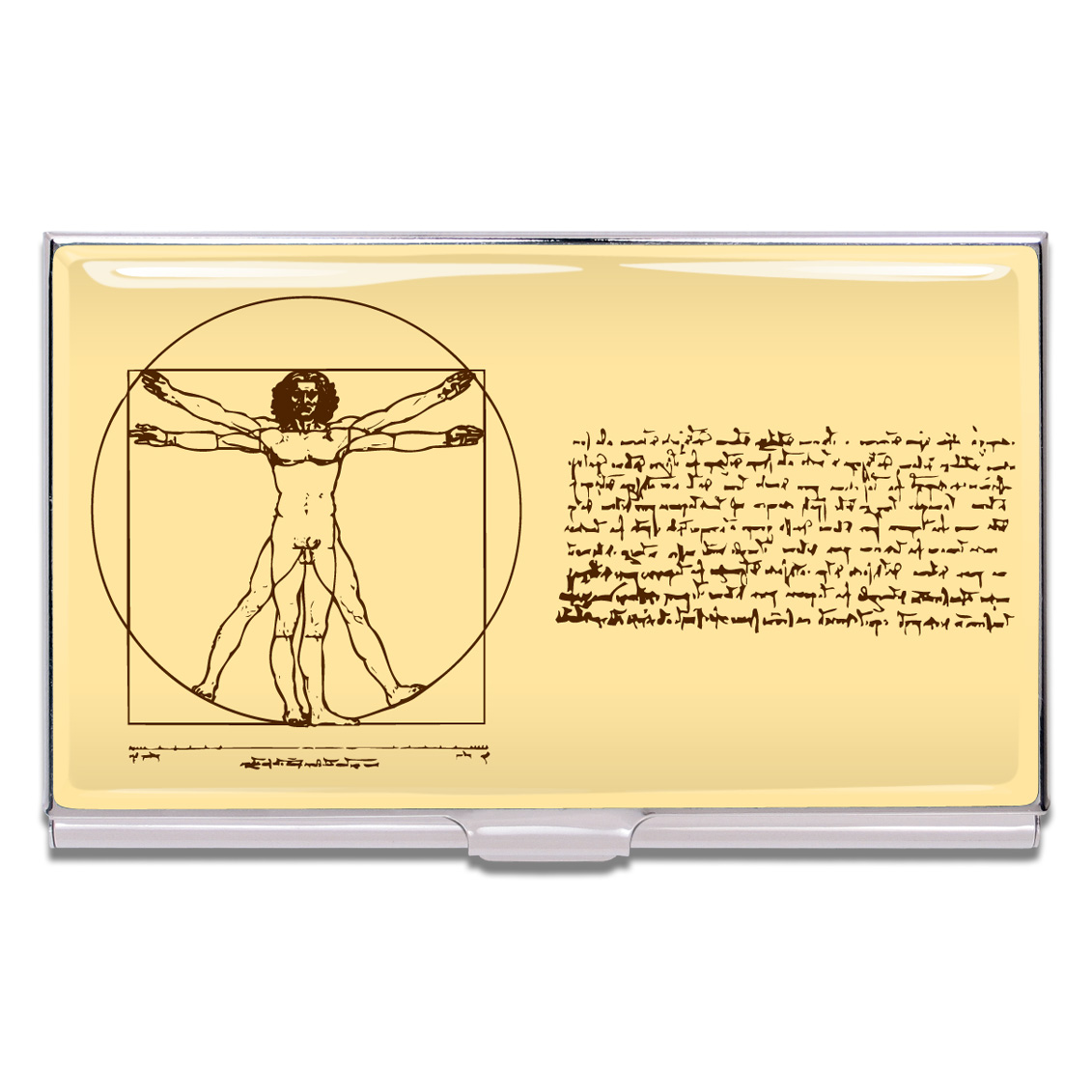 Shop SCIENCE Business Card Case by Leonardo Da Vinci (#CLD01BC) on ...