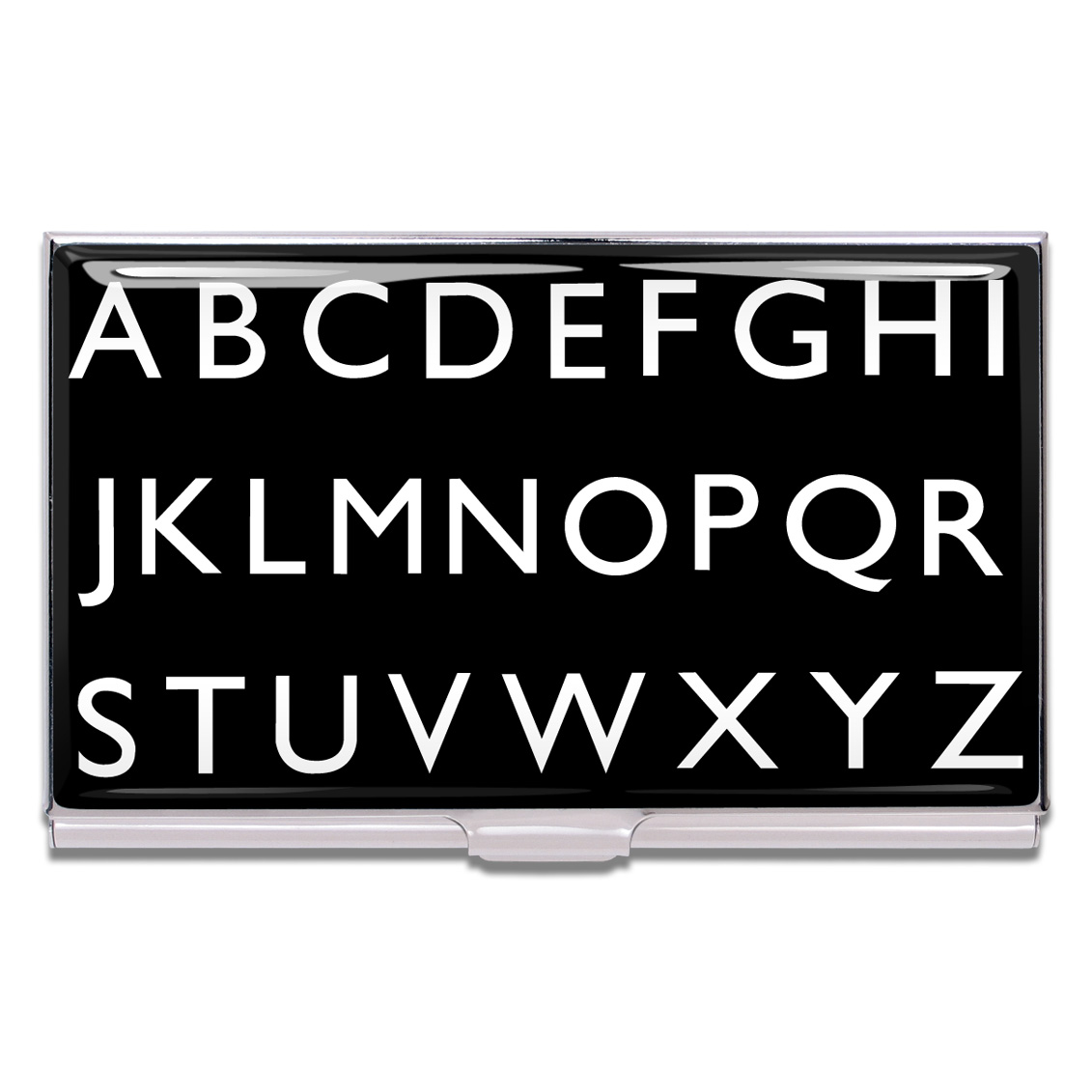 Shop ALPHABET Business Card Case by Rod Dyer (#CRD01BC) on ACME Studio