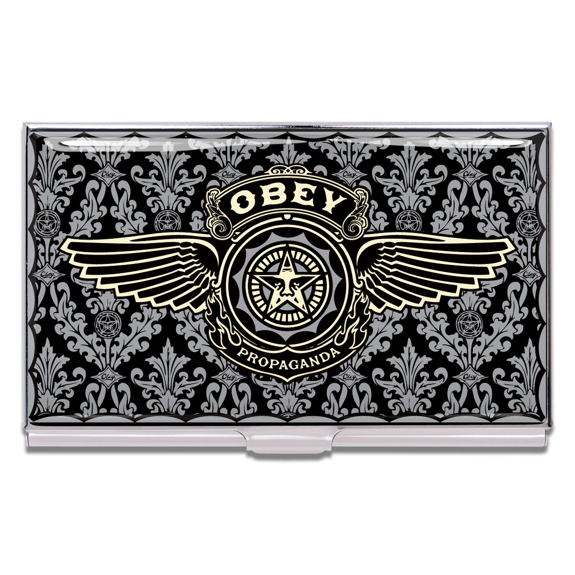 Shop OBEY Business Card Case by Shepard Fairey (#CSF02BC) on ACME Studio