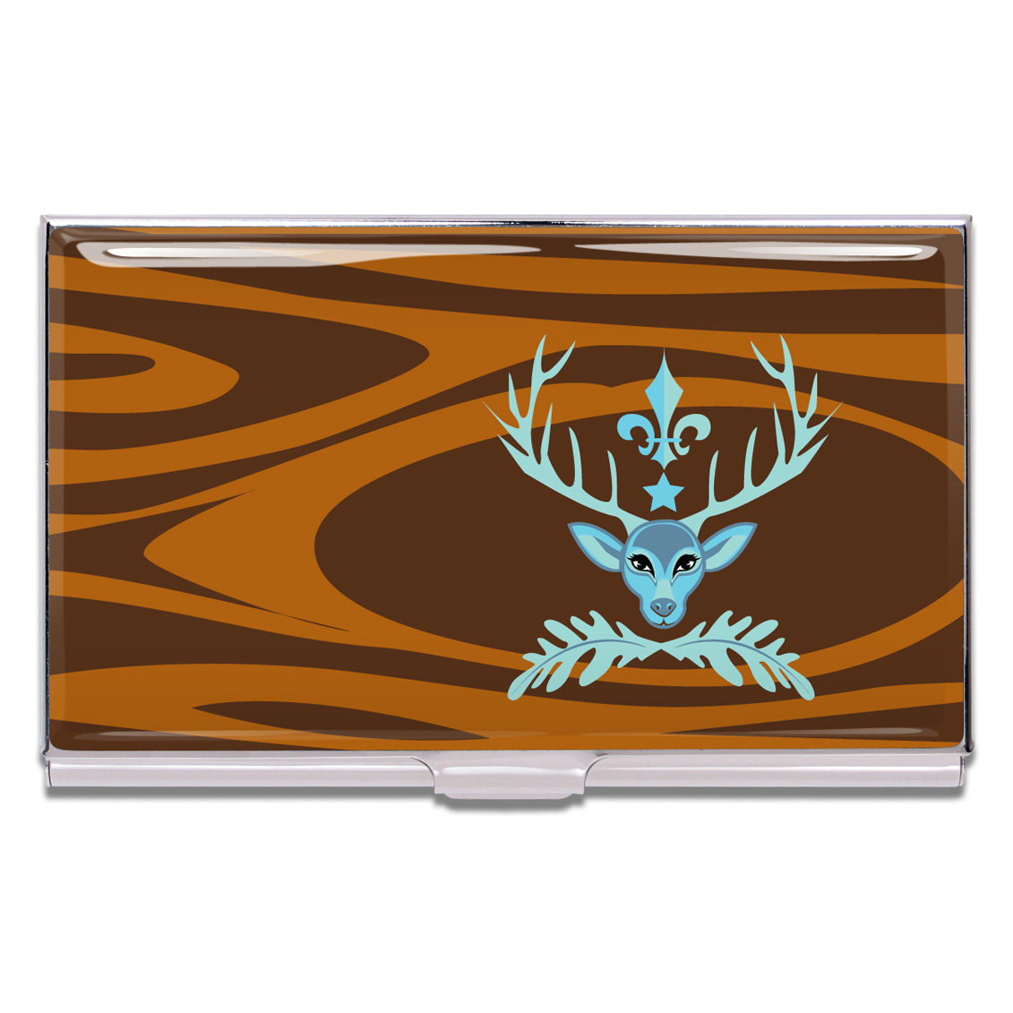 Shop DEER PRUDENCE Business Card Case by Bev Hogue (#CHBO01BC) on ...