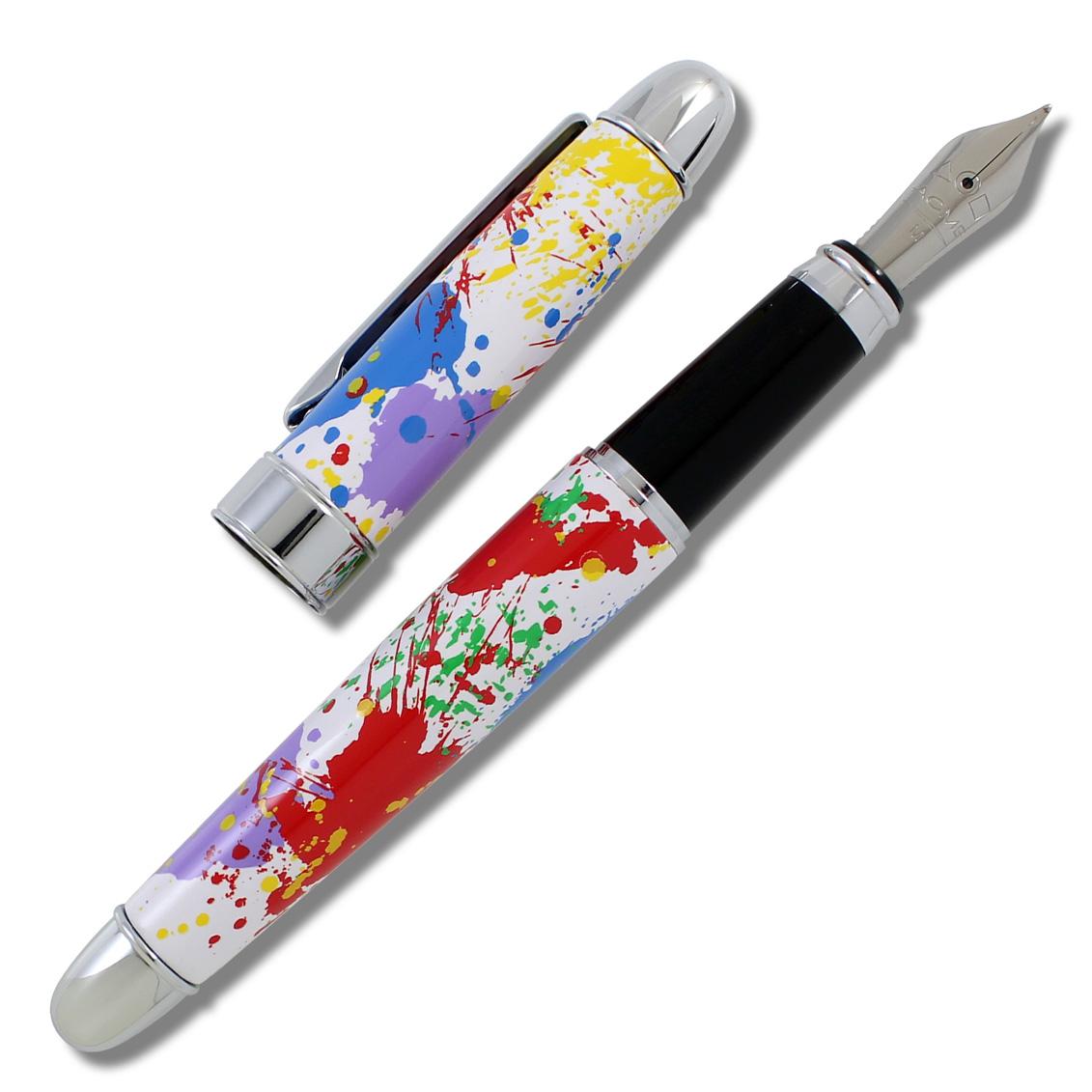 Shop PAINT SPLASH Fountain Pen & Card Case Set (PRE-ORDER) by ...