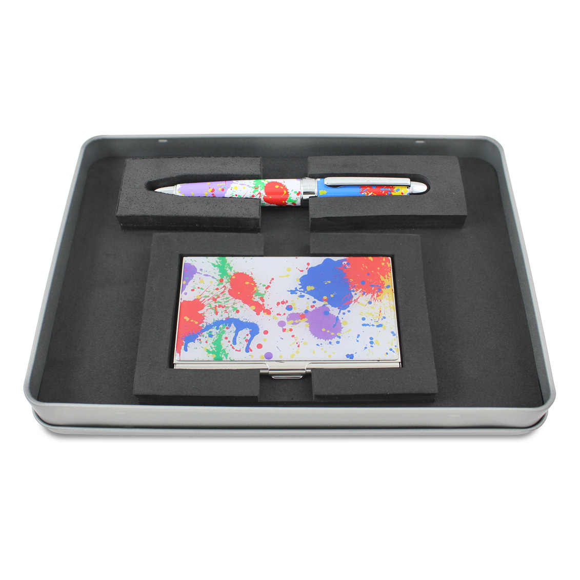 Shop paint splash roller ball pen card case set pre order by paint splash roller ball pen card case set pre order magicingreecefo Images