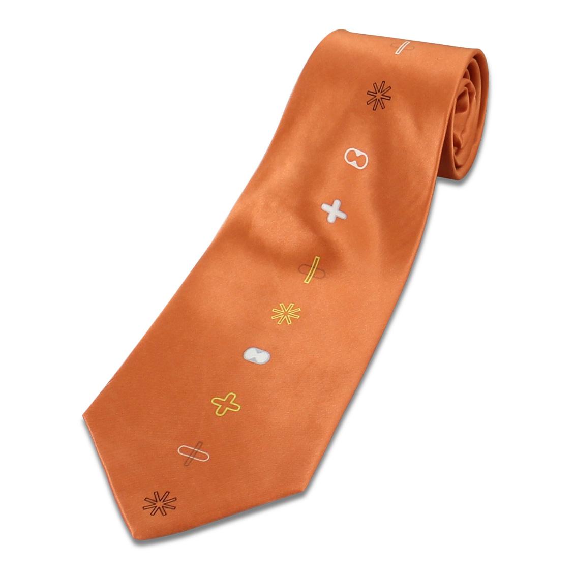 b1286e2b05a1 Shop ORANGE Neck Tie by Karim Rashid (#TKR02) on ACME Studio