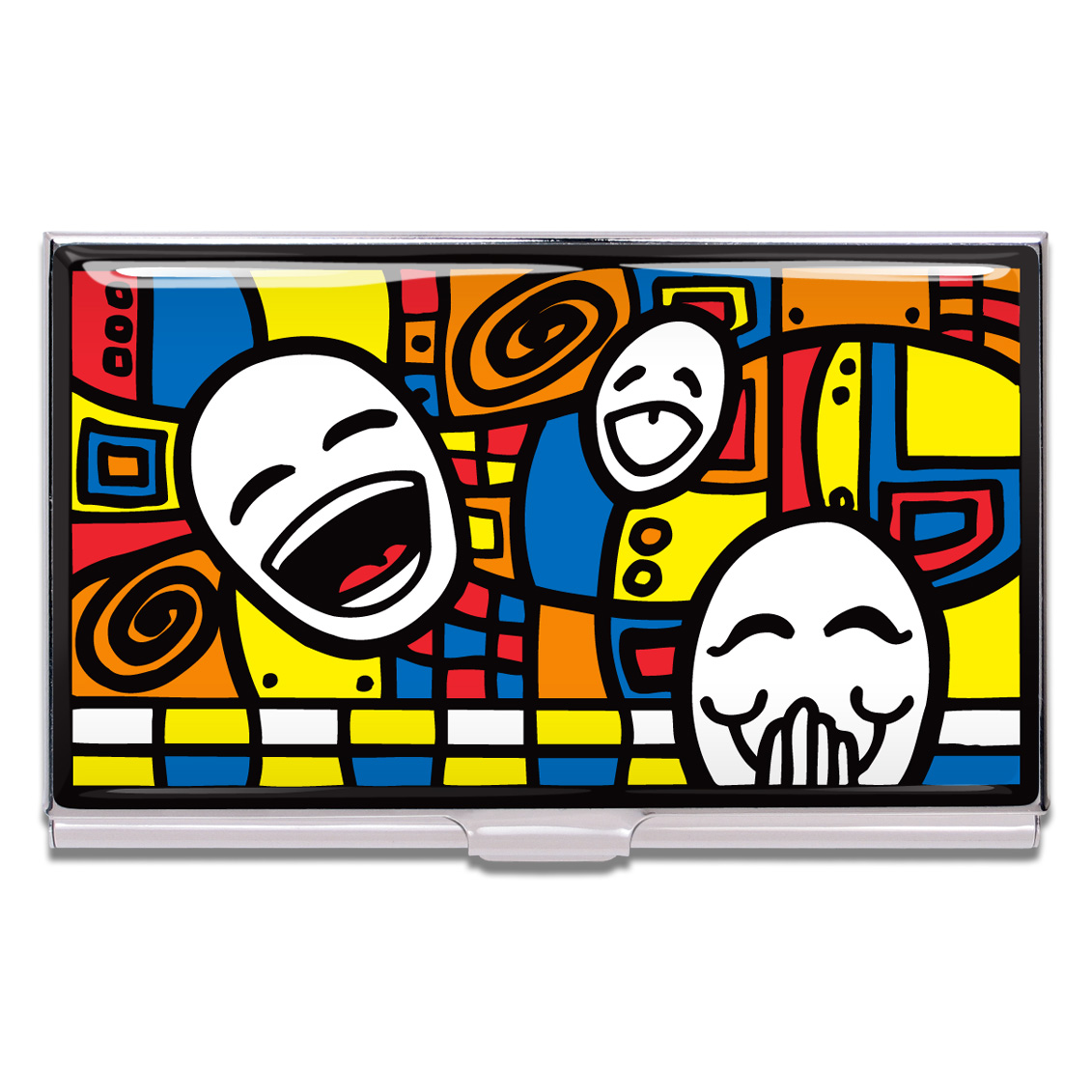 Shop HAPPY Business Card Case by Thom Reaves (#CTR01BC) on ACME Studio