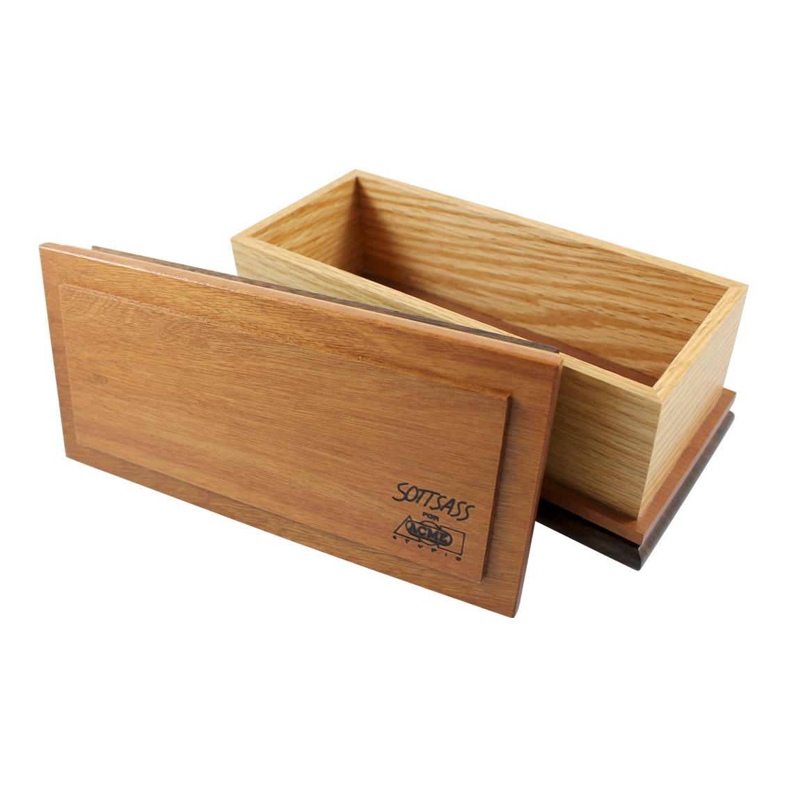 Shop Rectangular Wooden Box By Ettore Sottsass Oesbox03
