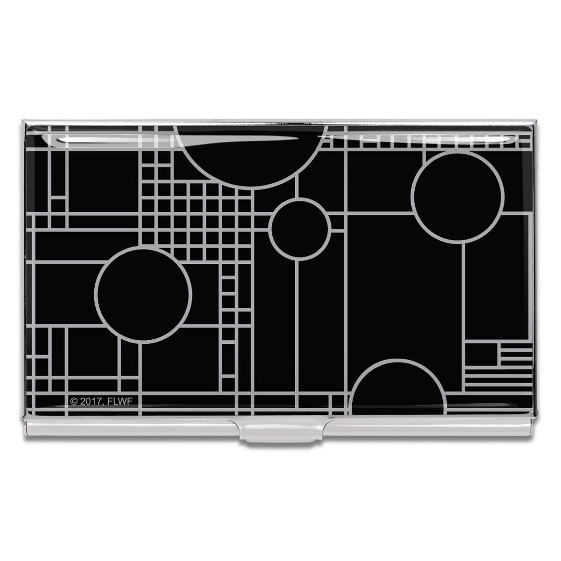 Shop PLAYHOUSE BLACK Business Card Case (PRE-ORDER) by Frank Lloyd ...